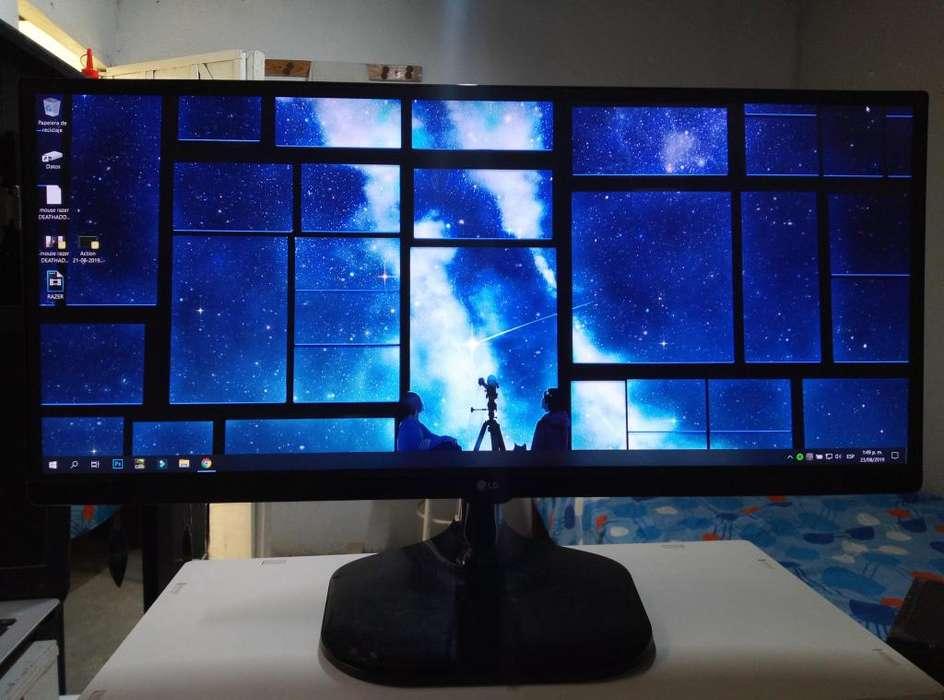 se vende monitor LG 25UM58 Ultrawide 25