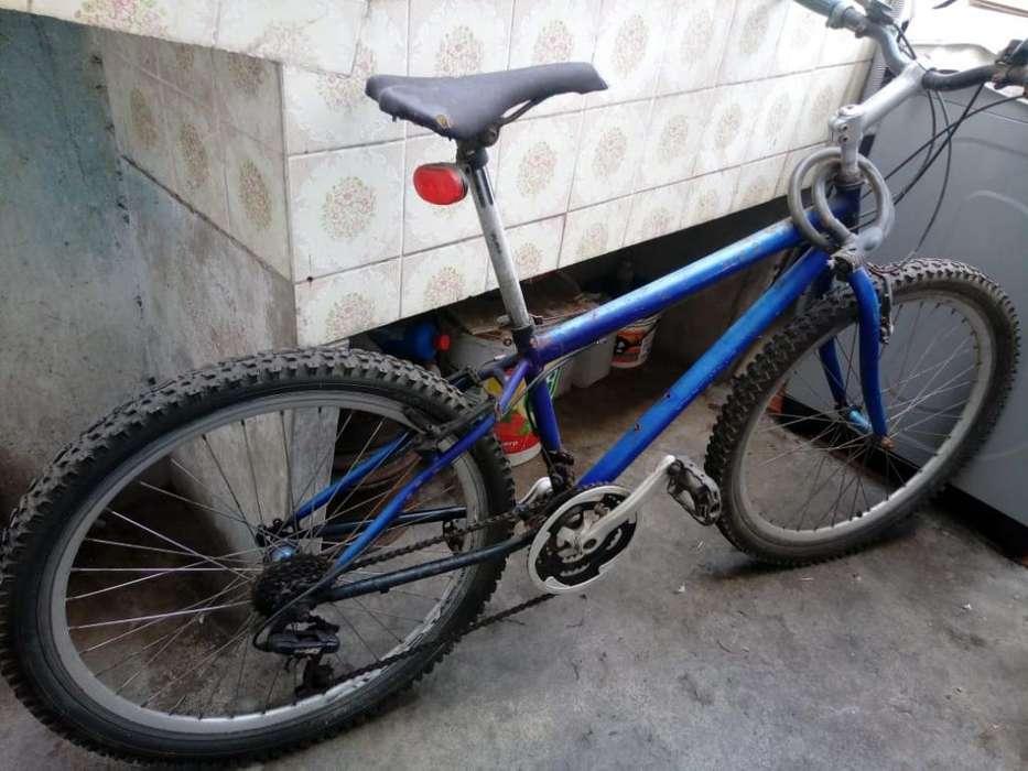 2 Bicicletas Azul Aros de Aluminio