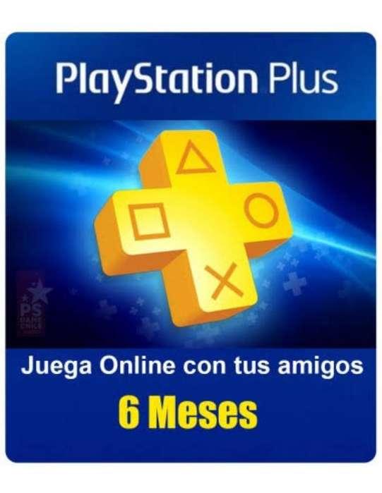 Ps Plus X 6 Meses