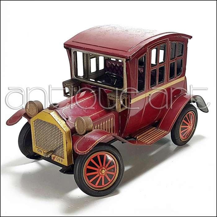 A64 Auto Hojalata Grand Pa Car Antiguo Decoracion Vintage US125