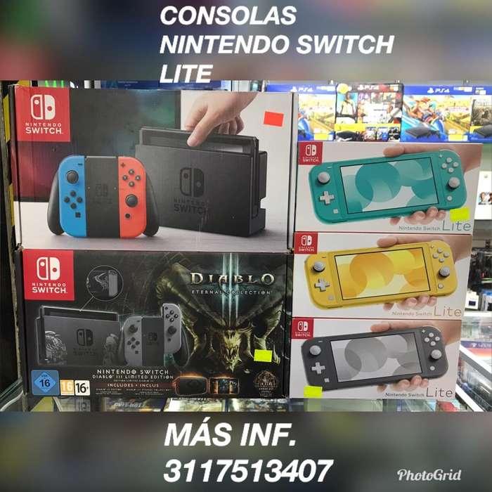 Consolas de Nintendo Switch Y Lite