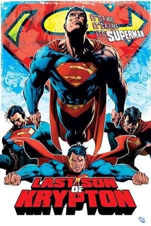 SUPERMAN POSTER - Last Son of Krypton