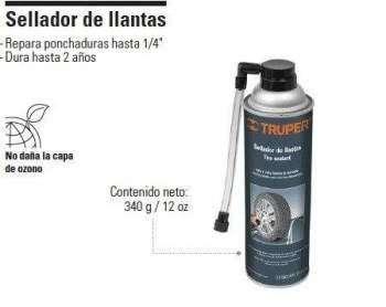 SELLADOR INFLADOR DE <strong>llanta</strong>S 12oz