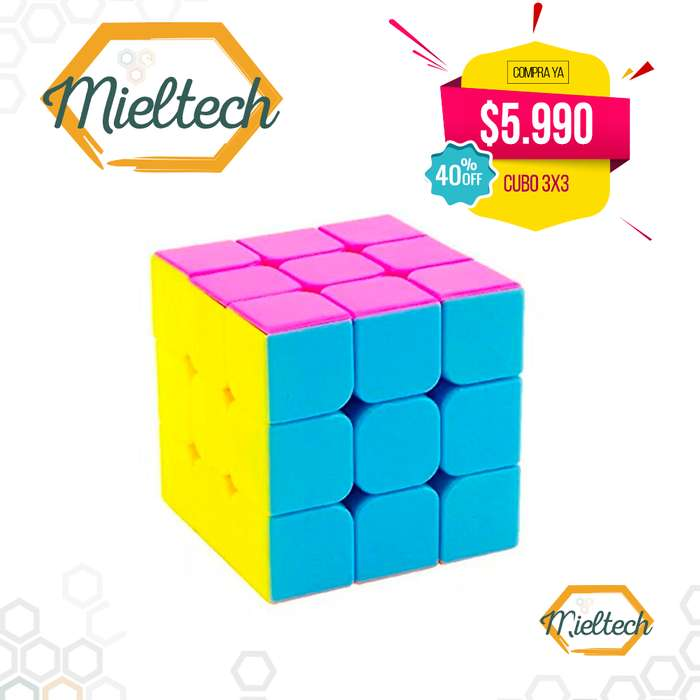 Cubo Rubik speedcube 3x3