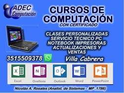 CURSOS DE OPERADOR DE PC  EXCEL BÁSICO Y AVANZADO con certificado CÓRDOBA