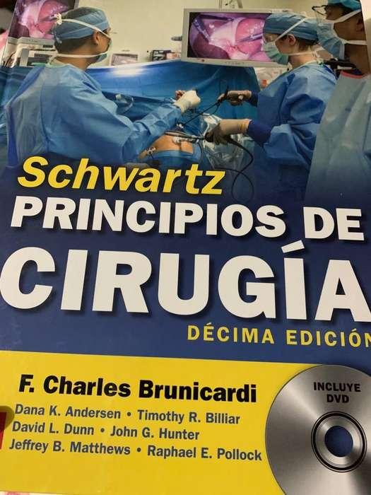 vendo libro principios de cirugia schwartz decima edicion