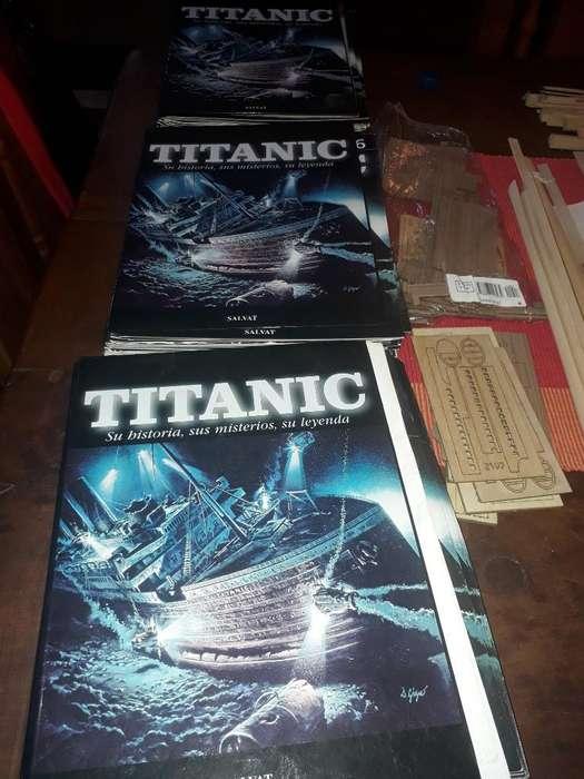 Coleccion de Titanic para Armar.