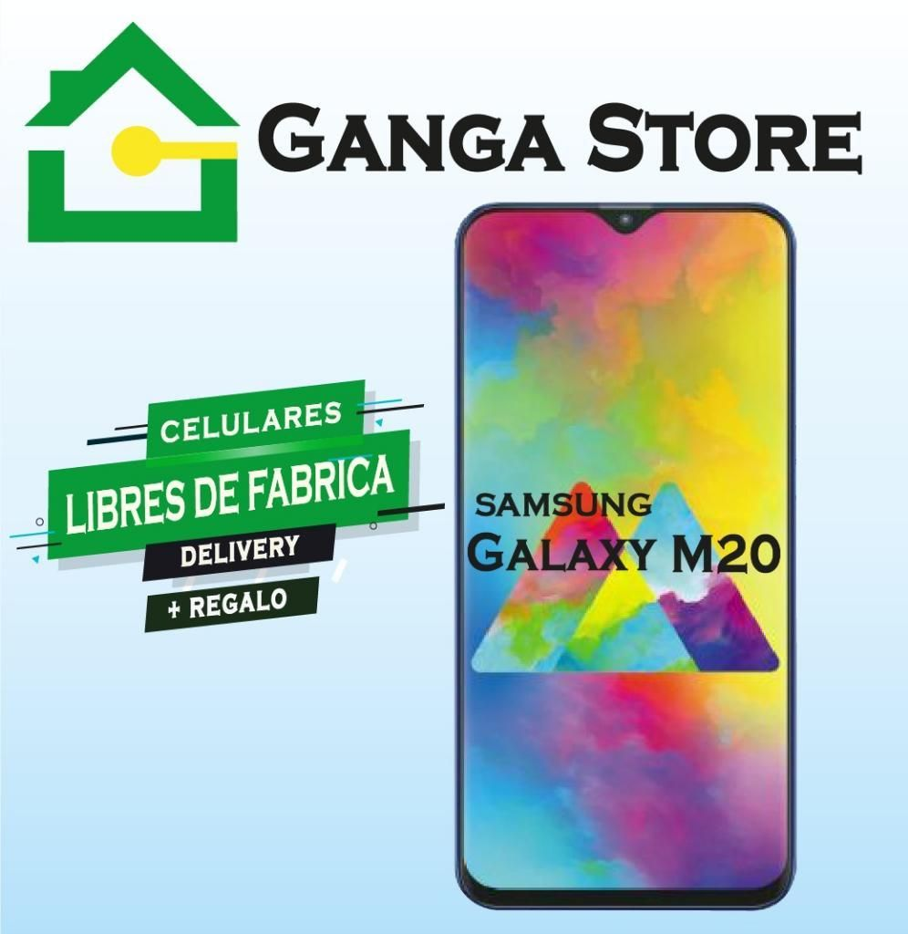 Samsung M20 Tienda Libre de Fabrica