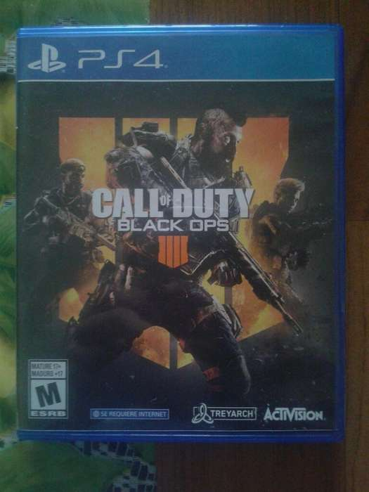 Jueg Ps4 Call Of Duty Black Ops 4