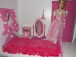 ? Casitas de muñecas Barbie Terraza MDF 9mm ?