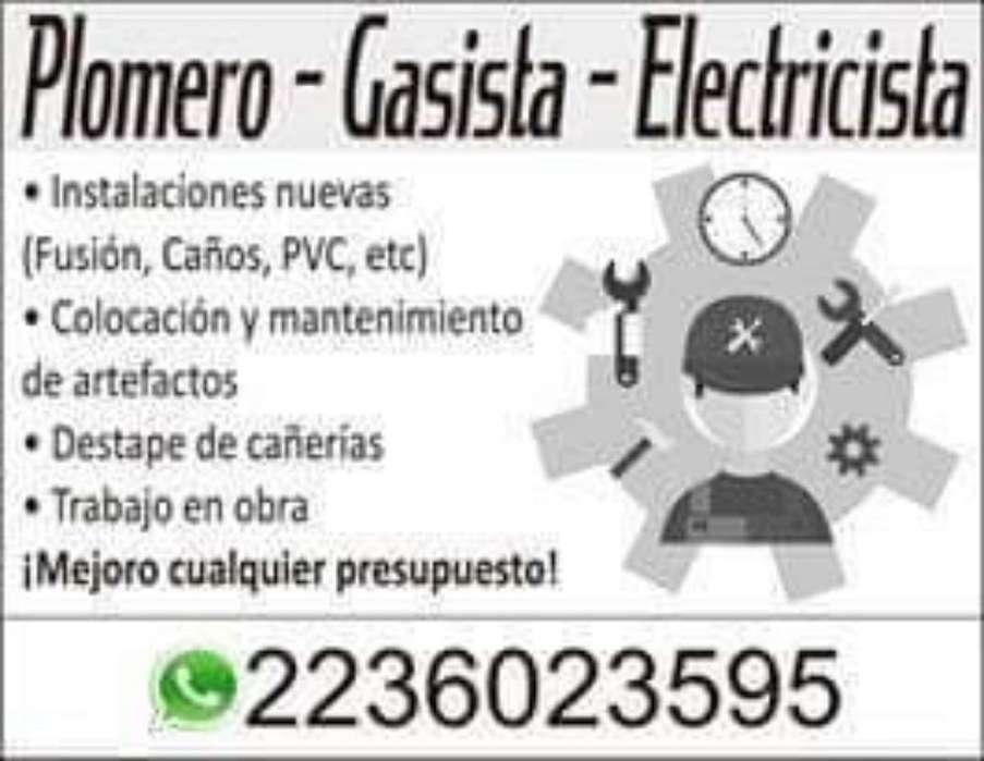 Gasista Plomero Electricista