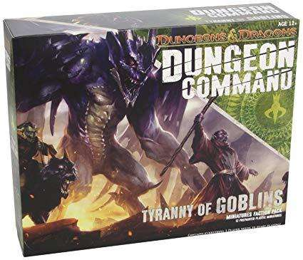 dungeons and dragons dungeon command tyranny of goblins