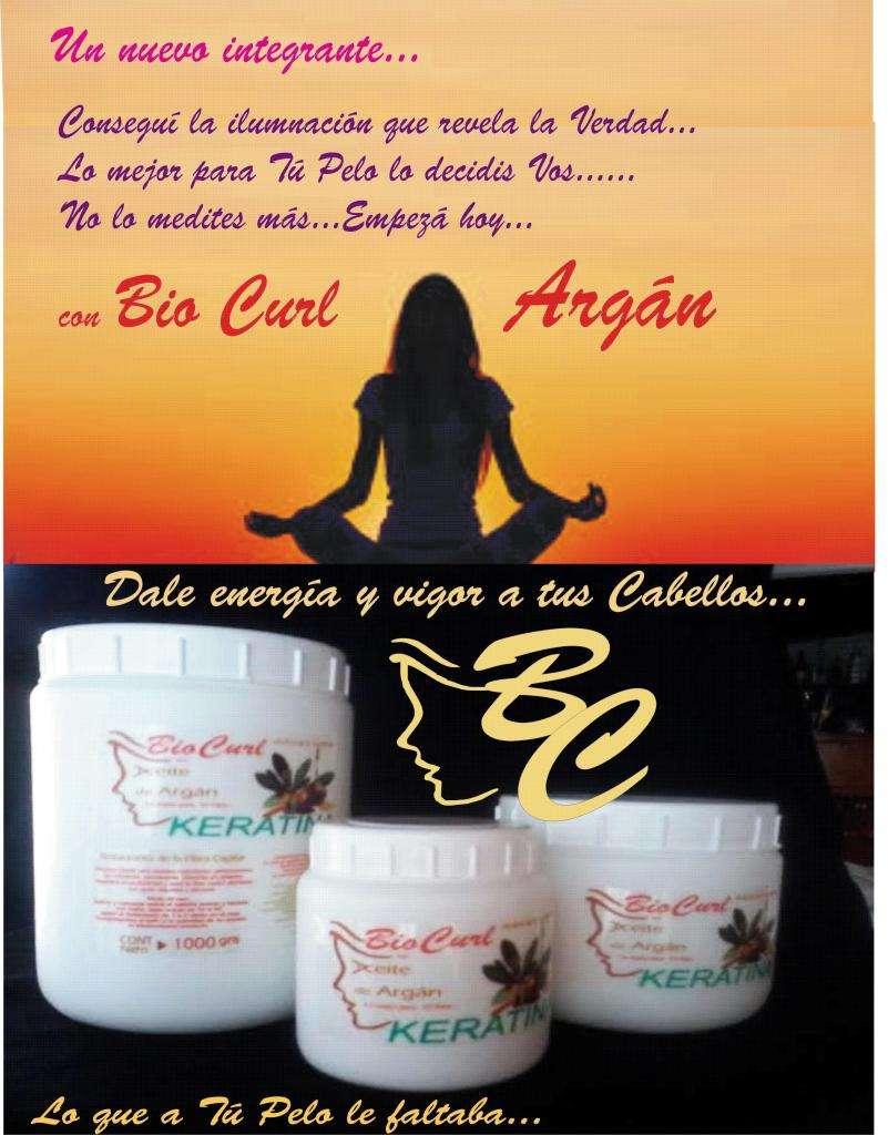 Tratamiento con aceite de Argán Bio Curl