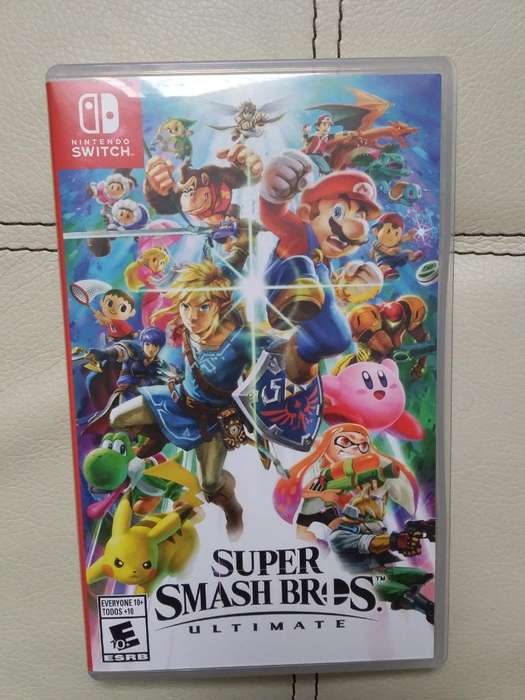 Vendo Super Smash Bros Juego Nintendo Sw