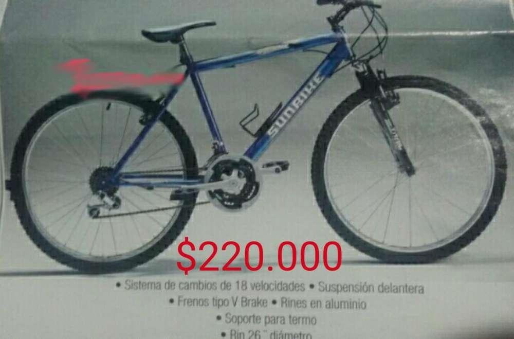 Bicicleta Sunbike Rin26 Nueva