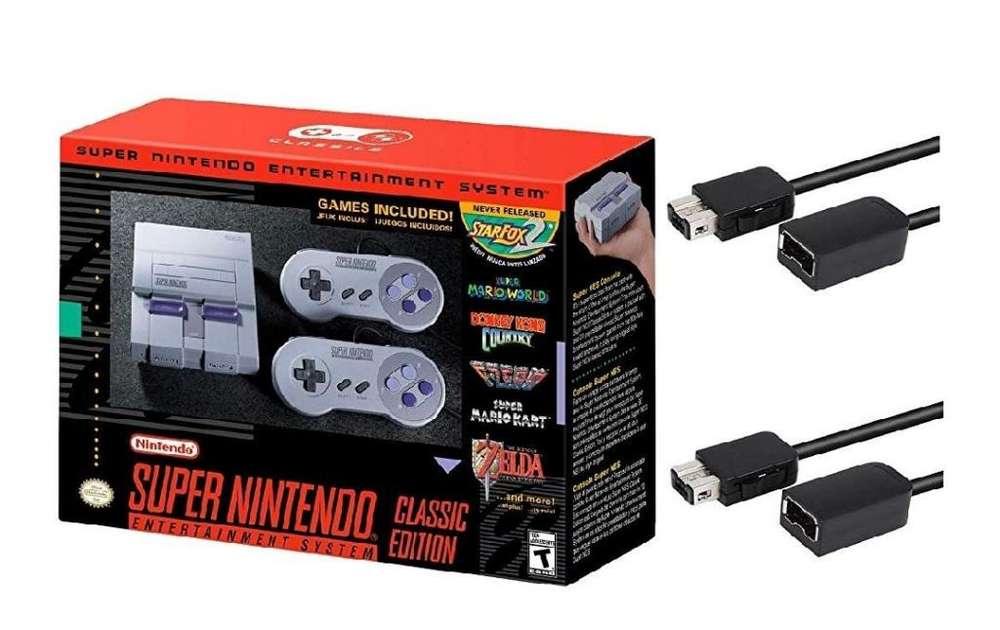 Remate Nintendo original mini Super Nes original nuevo sin caja