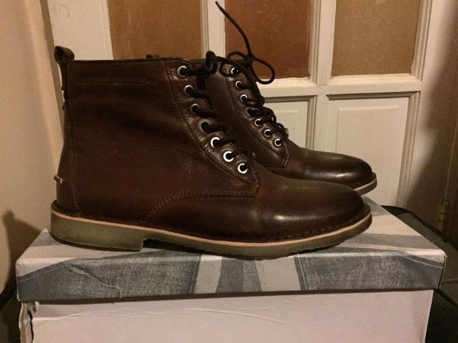 Liquido, motivo viaje. zapatos/Botas para Hombre Pepe Jeans Importados T41 Eur