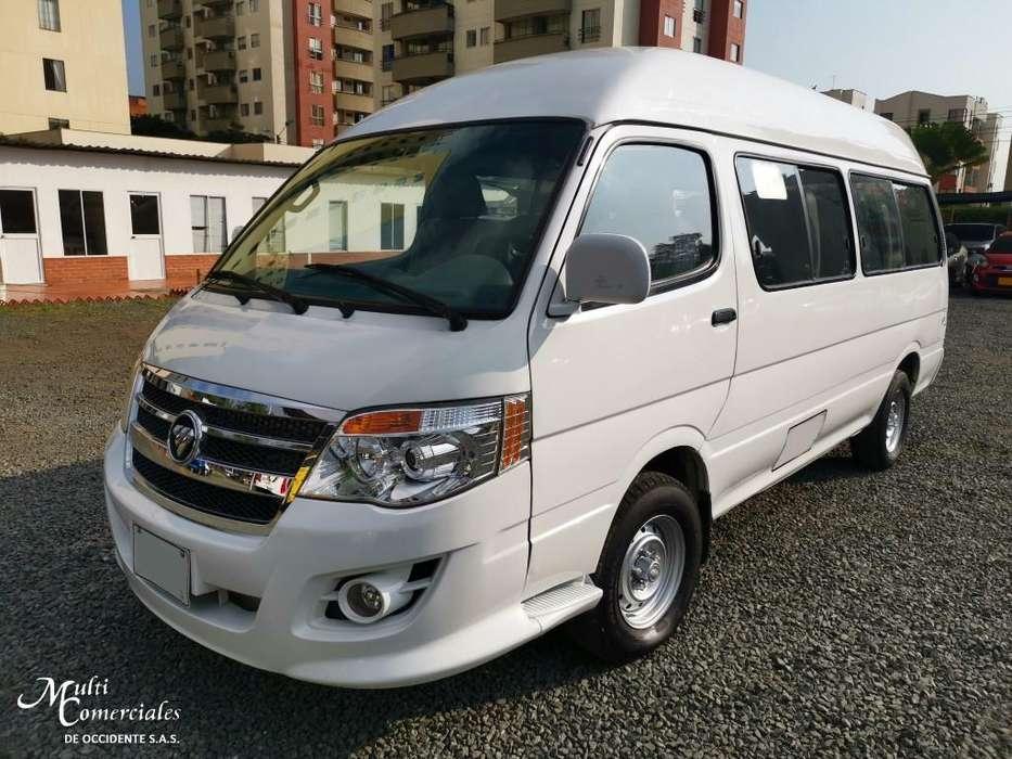 Microbus Foton Bj6536 Modelo 2013, 16 Pasajeros, S. Especial