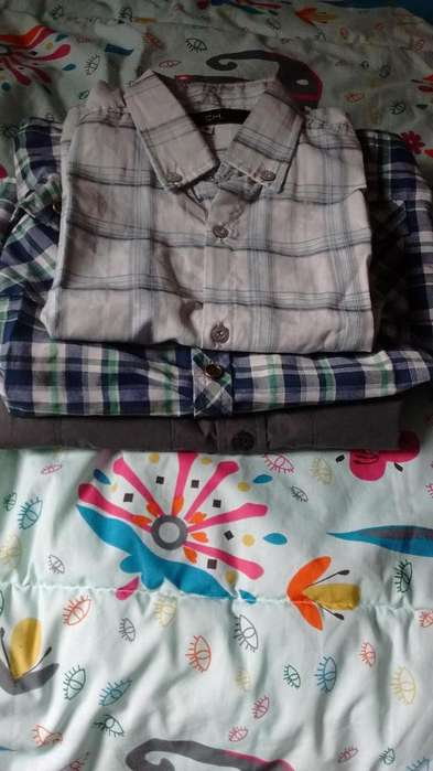 <strong>camisa</strong>s nene talle 8 y 2 talle 10
