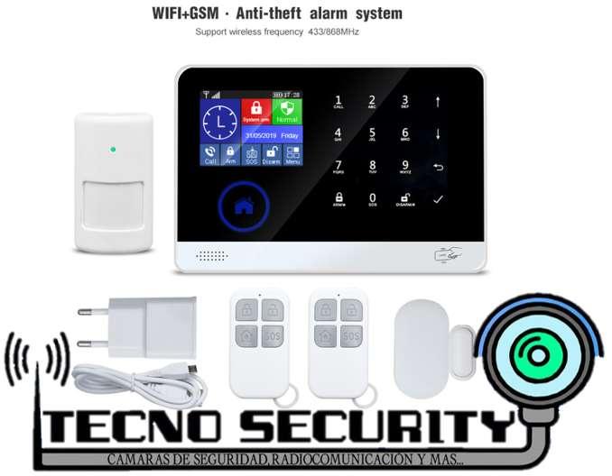 Alarma de seguridad inalámbrica WIFI HOGAR U OFICINA