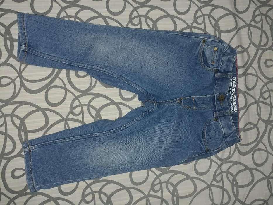 Jeans &denim 9 a 18 Meses