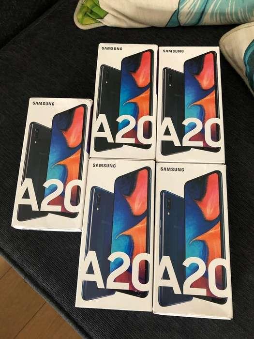<strong>samsung</strong> A20 32Gb-3G Nuevos