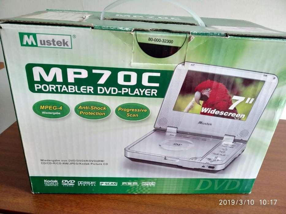 Mustek Portable Dvd Player