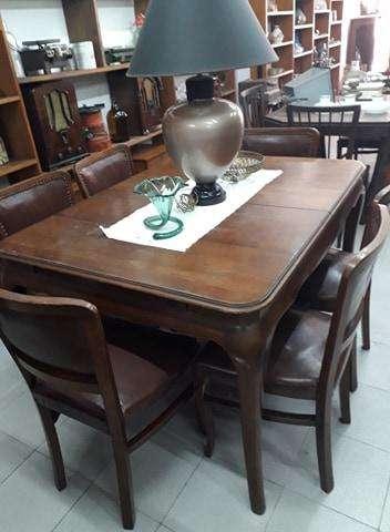 Juego de 6 sillas antiguas estilo francés