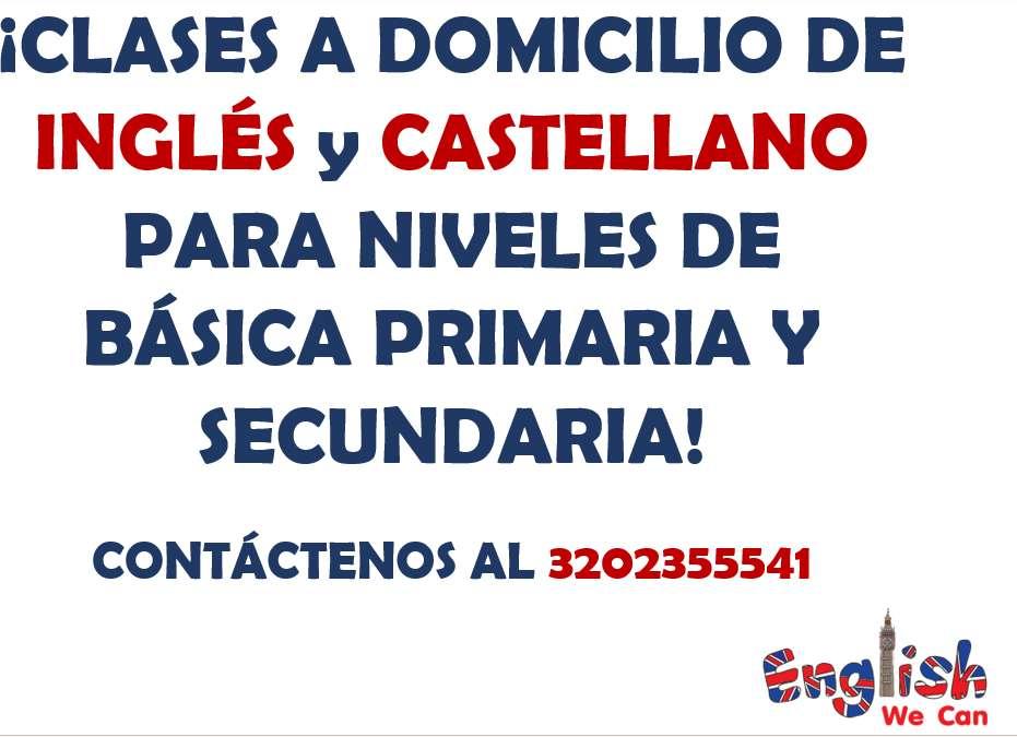 ¡CLASES PARTICULARES DE INGLÉS Y LENGUA CASTELLANA!