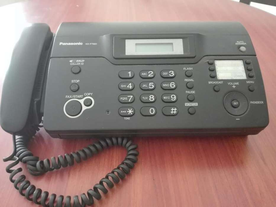 Fax Panasonic Kx Ft931
