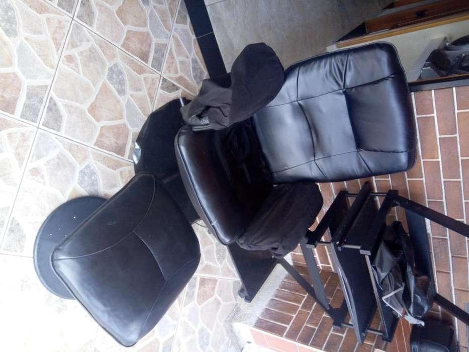silla masajeadora para sala de belleza u otro