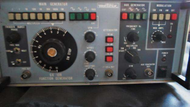 se vende metrix GX 139 function generator
