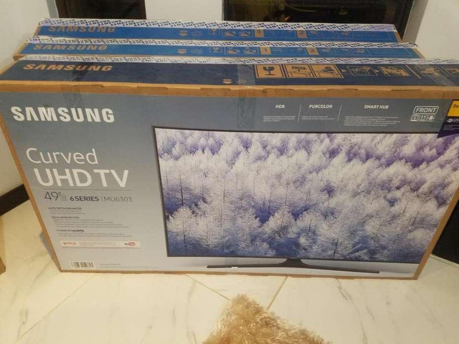 Samsung 49 Curve 4k Nueva de Paquete