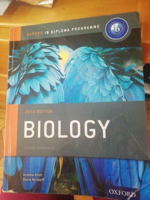 Libro de Biología Oxford Ib
