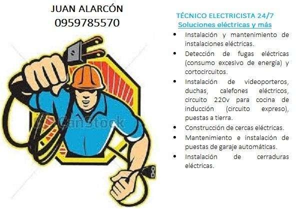TÉCNICO ELECTRICISTA 24/7