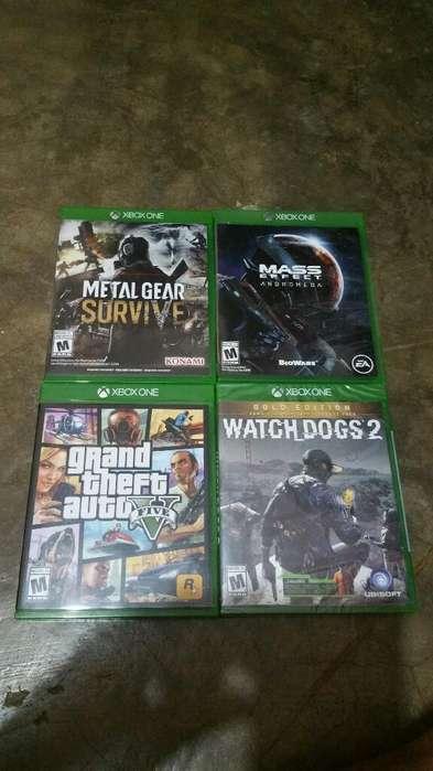 Vendo Juegos Nuevos para Xbox One