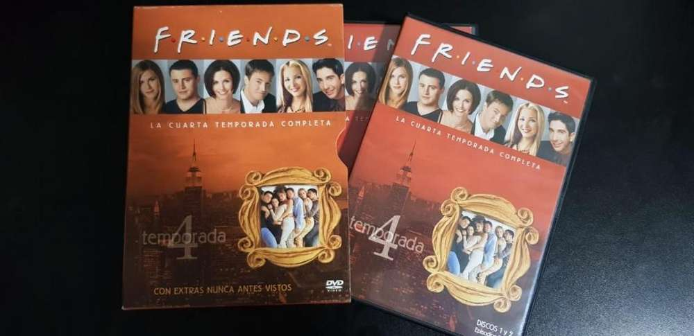 Friends Temporada 4 Completa Español Dvd Original Coleccion