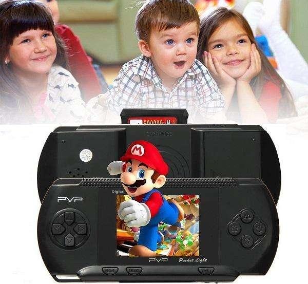 Consola De Juegos Portátil y Tv Pvp 3000 Súper Mario