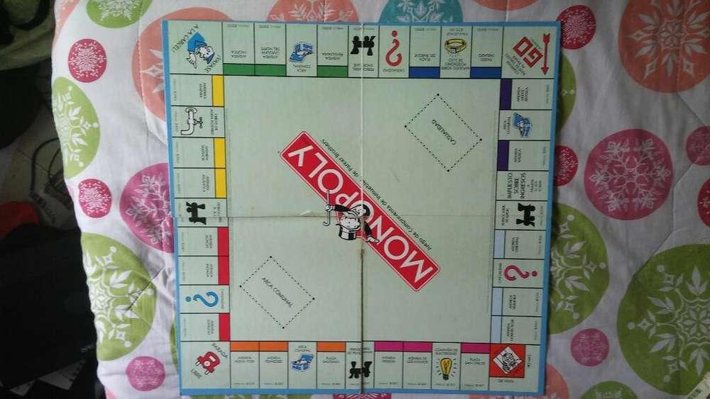Tablero Monopoly Juego de Mesa