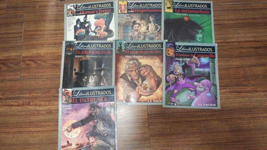LIBROS ILUSTRADOS LA NACION watsap 116-140-0746