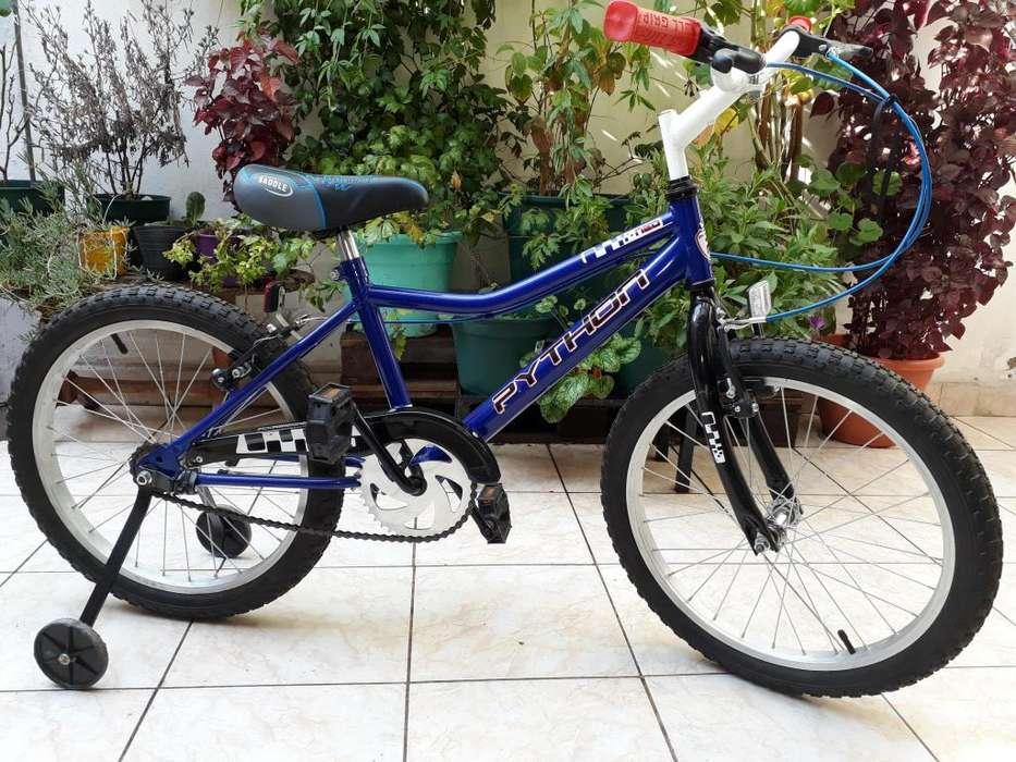 Bicicleta PYTHON NEO rodado 16