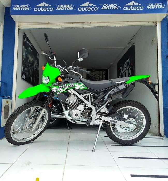 <strong>kawasaki</strong> KLX 150 Nueva Modelo 2019 0 km aceptamos tu moto usada en forma de pago
