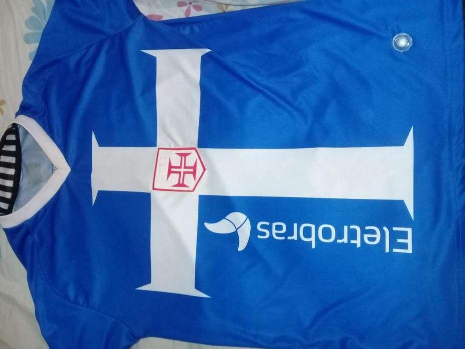 Camiseta Vasco Da Gama usada Exelente M