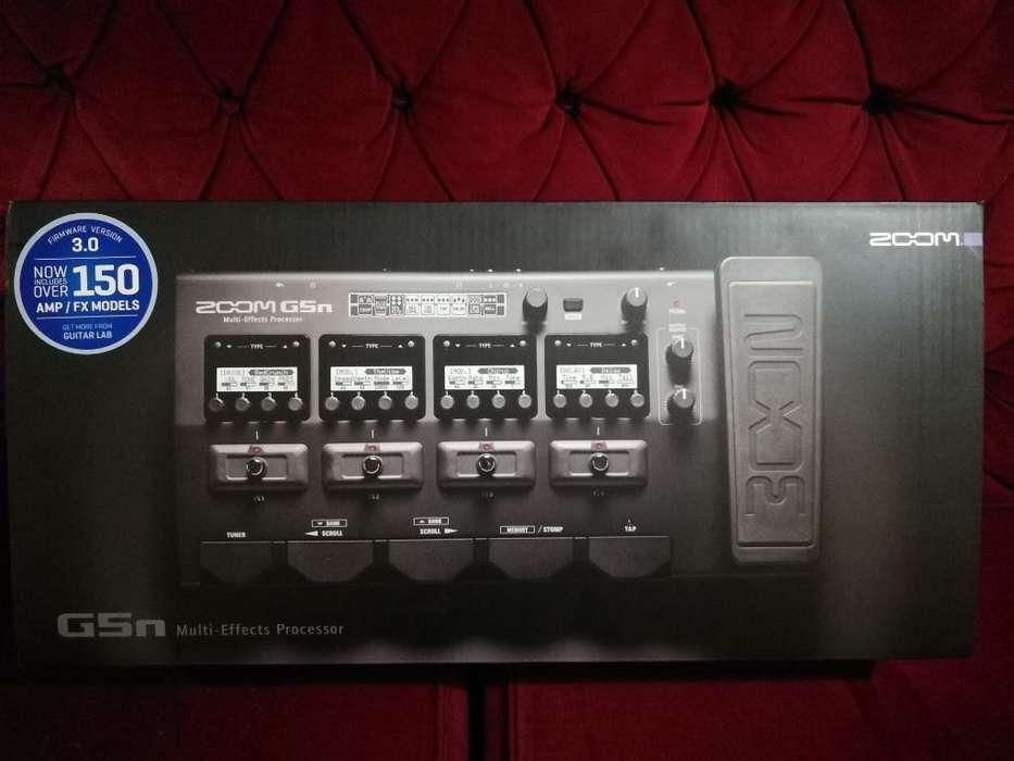 Zoom G5n Pedalera Multiefectos Electrica