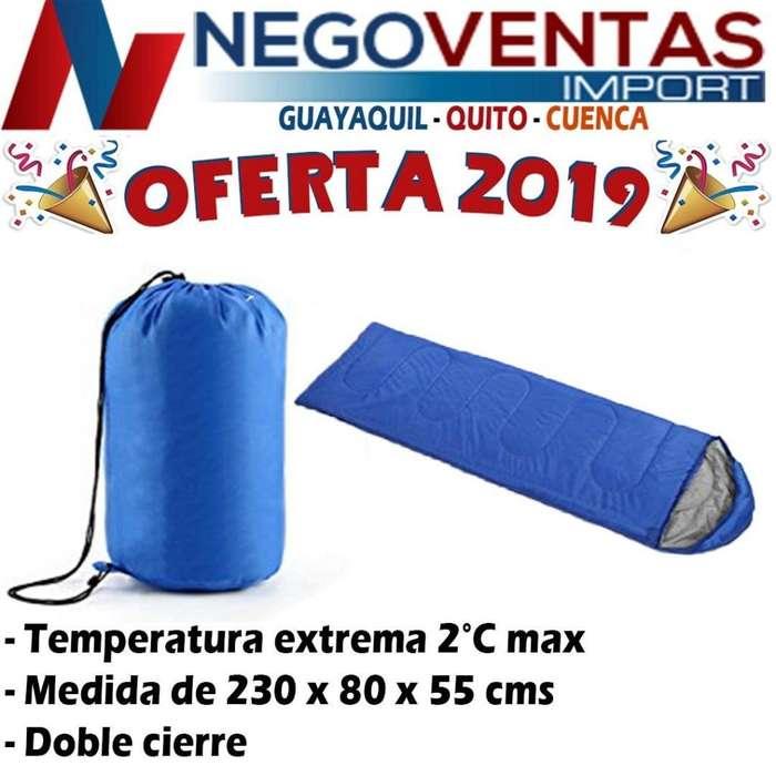 SLEEPING BAG BOLSA DE DORMIR PARA CAMPING