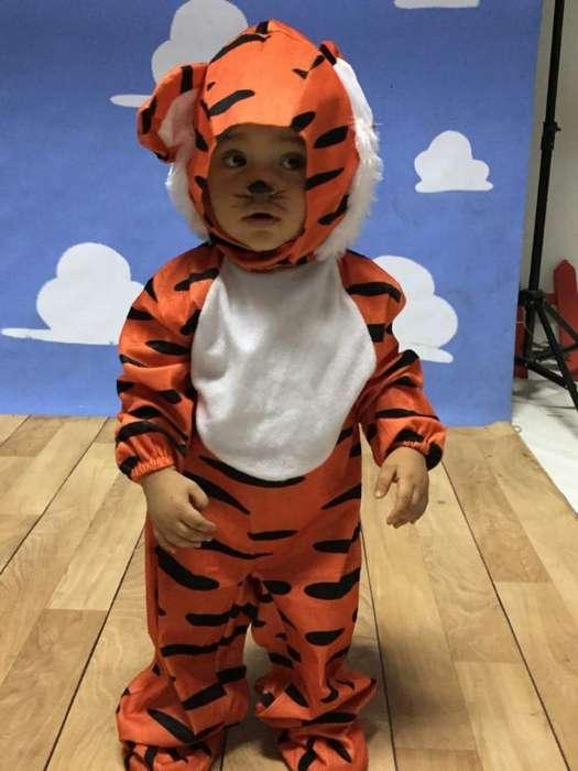 Disfraz de Tigre Talla 1