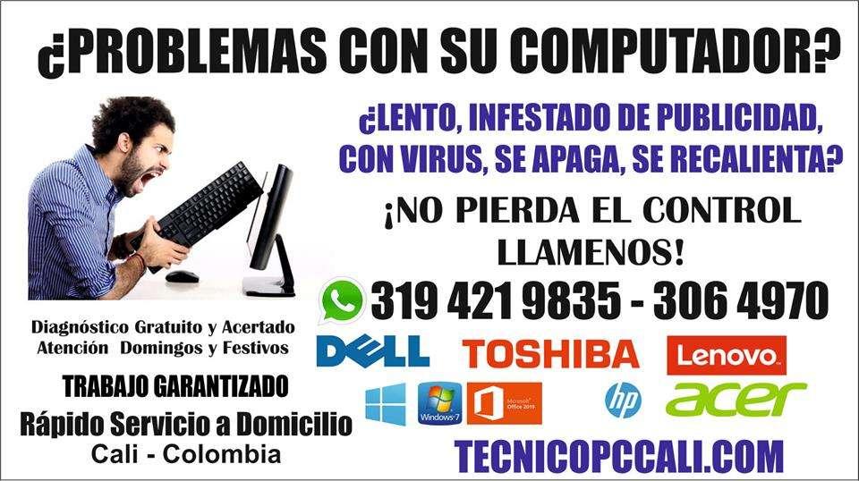 REPARACION DE COMPUTADORES EN CALI