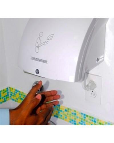 Secador de Manos Plastico Abs Blanco