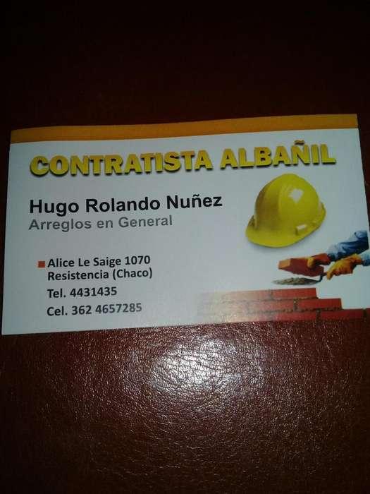 Contratista: Hugo Nuñez