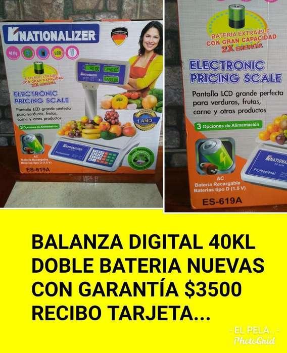 Balanzas Digitales